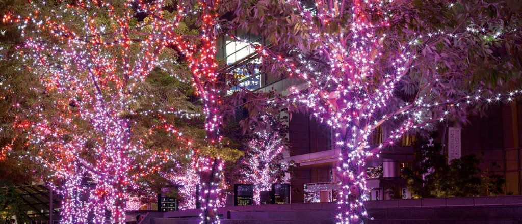 『ミッドタウン・クリスマス 2015』開催!52万個のLEDが星のように輝くイルミネーションが街全域を彩る♪1