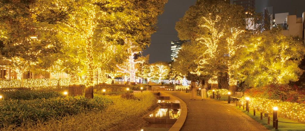 『ミッドタウン・クリスマス 2015』開催!52万個のLEDが星のように輝くイルミネーションが街全域を彩る♪2