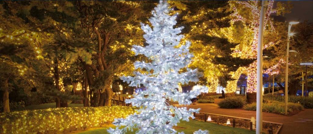 『ミッドタウン・クリスマス 2015』開催!52万個のLEDが星のように輝くイルミネーションが街全域を彩る♪4