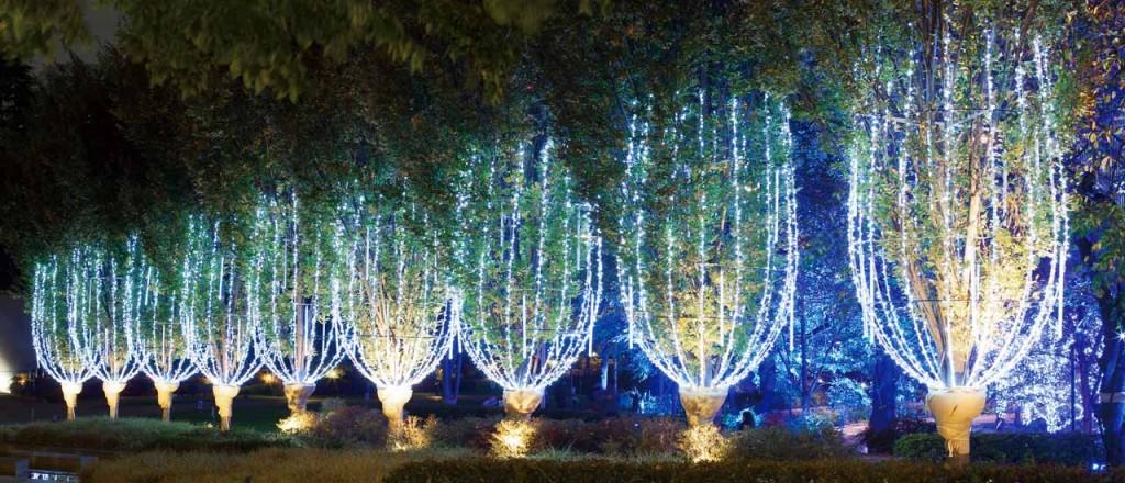 『ミッドタウン・クリスマス 2015』開催!52万個のLEDが星のように輝くイルミネーションが街全域を彩る♪5