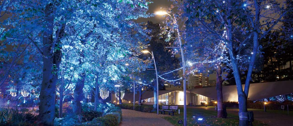 『ミッドタウン・クリスマス 2015』開催!52万個のLEDが星のように輝くイルミネーションが街全域を彩る♪6