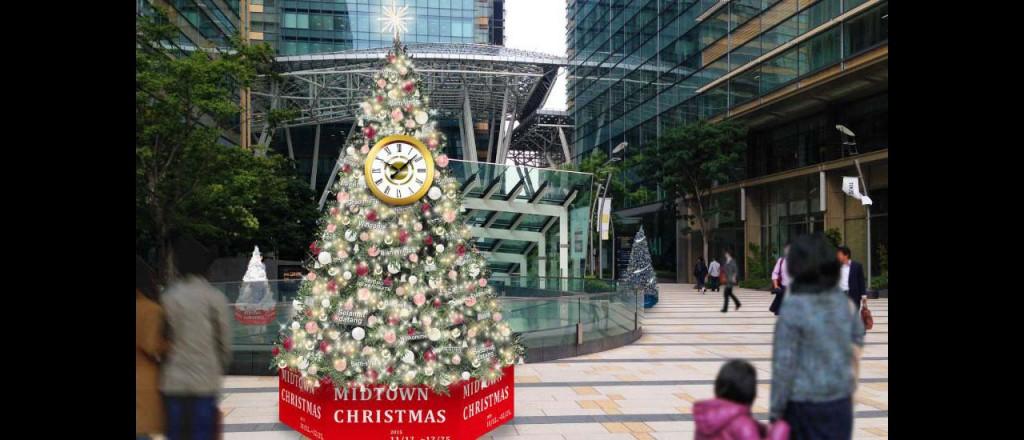 『ミッドタウン・クリスマス 2015』開催!52万個のLEDが星のように輝くイルミネーションが街全域を彩る♪7