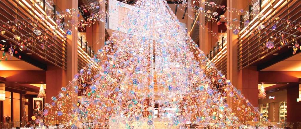 『ミッドタウン・クリスマス 2015』開催!52万個のLEDが星のように輝くイルミネーションが街全域を彩る♪9