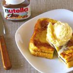 ヌテラを使ったフレンチトーストのレシピ