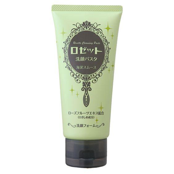 ロゼッタ洗顔パスタ|クレイシリーズ|海泥スムース