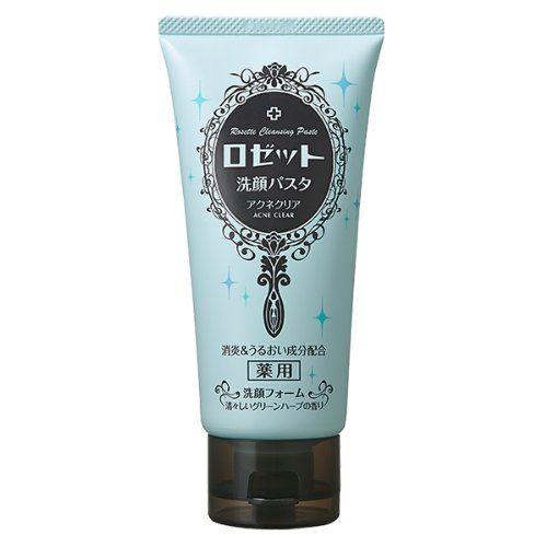 ロゼッタ洗顔パスタ|クレイシリーズ|アクネクリア