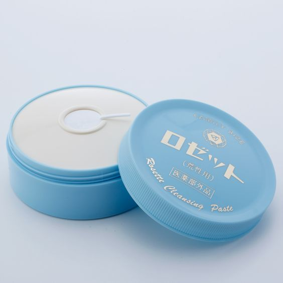 ロゼット洗顔パスタ|荒性肌用
