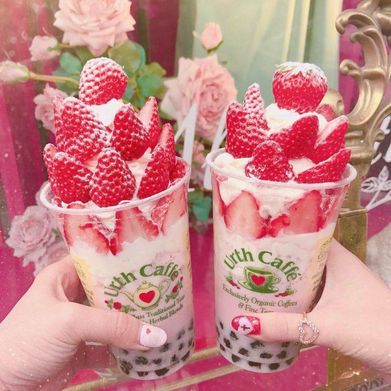 Urth Cafe いちごスムージー|
