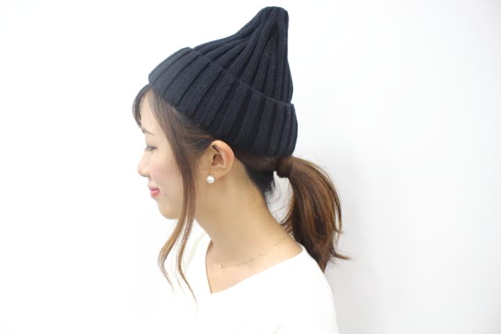 帽子講座|ニット帽