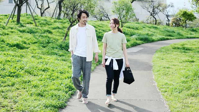 朝デート|お散歩